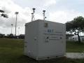 La station fixe de surveillance de la qualité de l'air