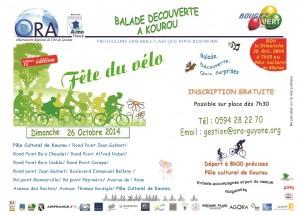 Flyer balade à vélo 2014